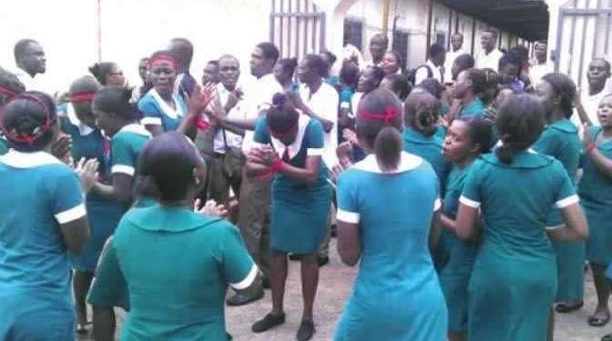 Trainee nurses, midwives complain over unpaid allowances. 46