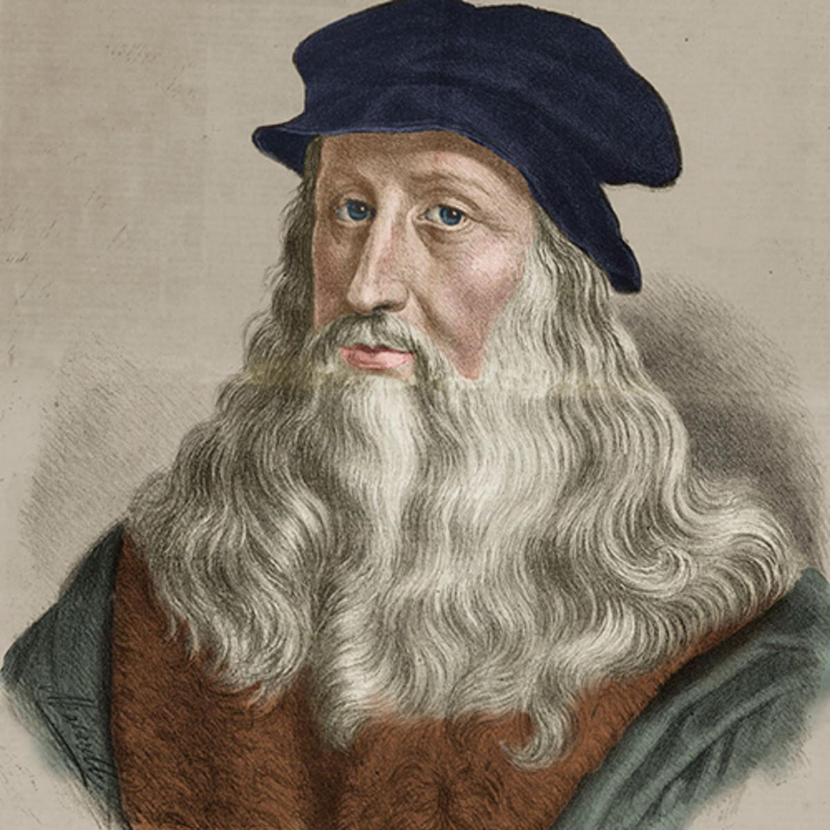 10. Revolutionary Inventions by Leonardo da Vinci. 3