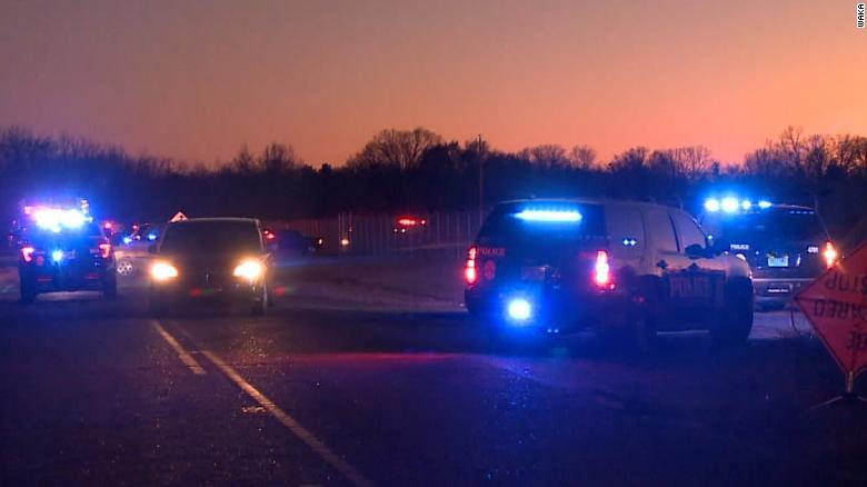 2 people killed in a military plane crash near Montgomery, Alabama. 1