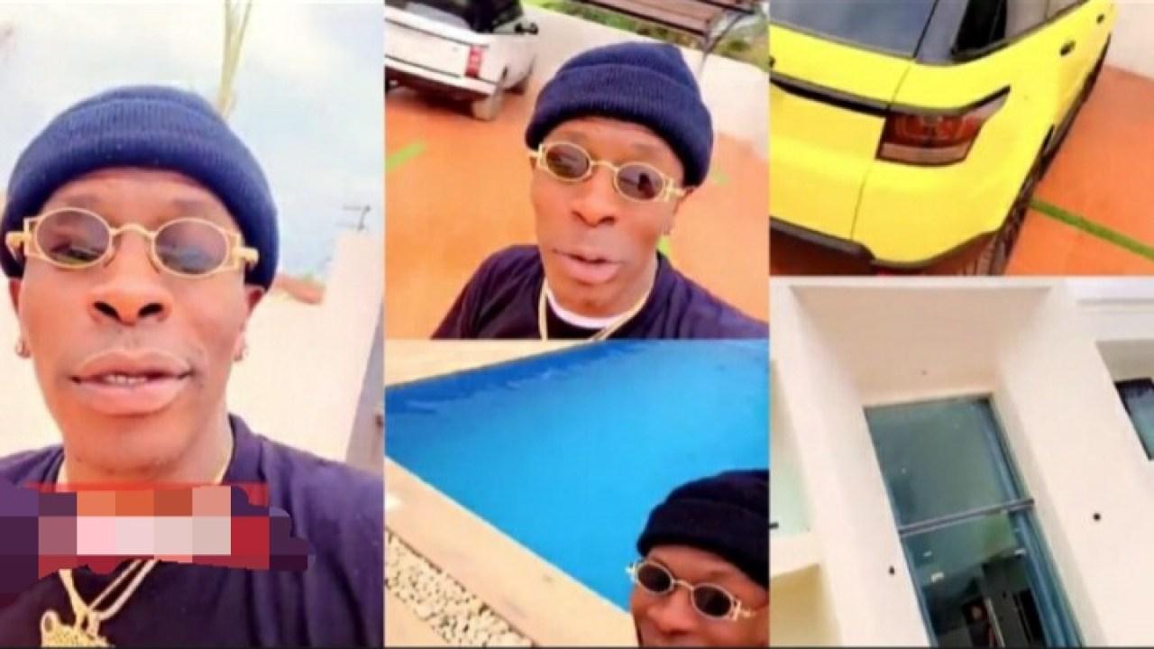 Shatta Wale Flaunts Lavish Million Dollar Mansion to Challenge Nhyiraba Kojo's 9-Bedroom Mansion – (Watch Video). 46