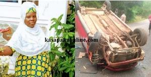 32-year-old NSS lady dies in ghastly accident at Ajumako Besease. 46