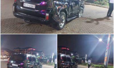 Adom FM's Bishop Owusu-Ansah involved in near fatal accident 46