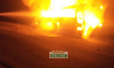 Taxi driver, passengers escape death as fire guts vehicle [Video] 57