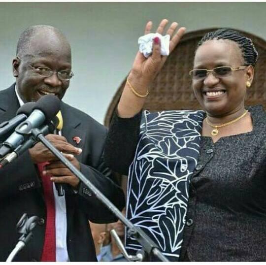 Meet Janeth Magufuli, the woman who captured President John Magufuli's heart. 46