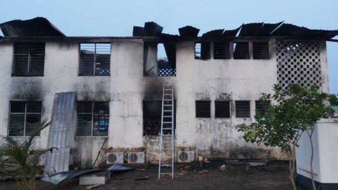 NPP's Chairman Radio Station Burnt Into Ashes - Photos. 52