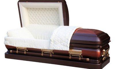 Carpenter arrested for stealing coffin 55