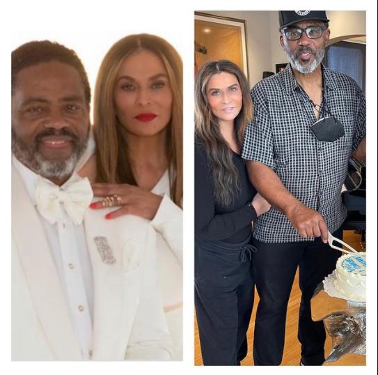 Beyonce's mom, Tina Lawson celebrates 6th wedding anniversary with her husband. 1
