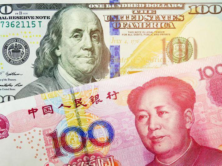 China's digital yuan displaces the dollar. 1