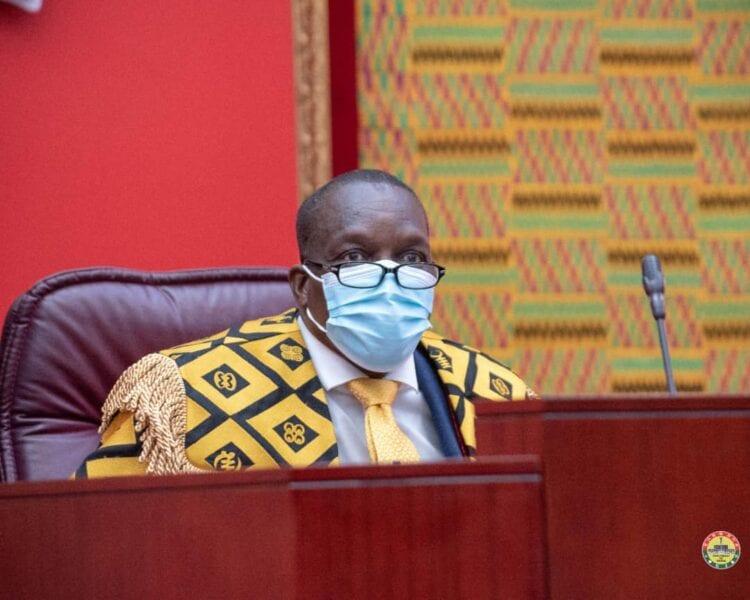 Even my 'girlfriend' cannot influence me when I'm sitting as Speaker – Alban Bagbin knocks Sammy Gyamfi. 44