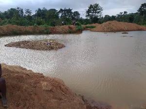 Regional Report: 41-year-old farmer found dead in a galamsey pit at Wassa Kwagyansah. 46