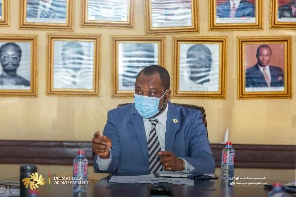 Dumsor: Ghana has no issue with power generation – Dr. Matthew Opoku Prempeh. 46