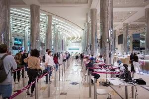 Five Ghanaians nabbed at Dubai International Airport for drug trafficking. 46