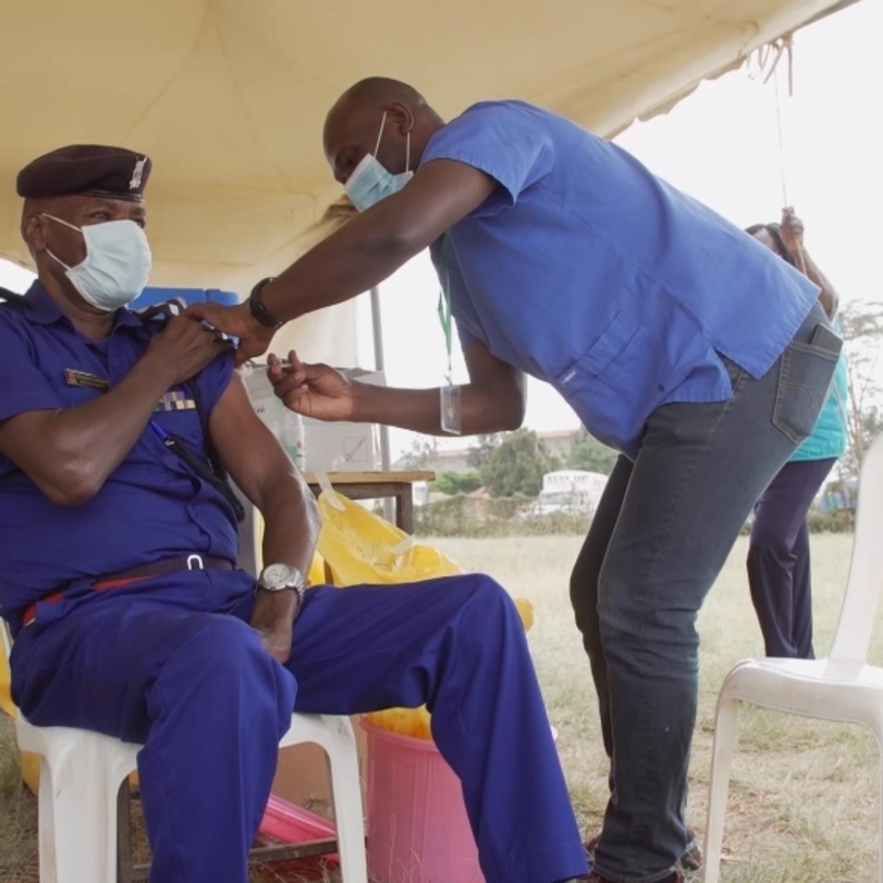 Covid-19 third wave hits Kenyan hospitals - (Video). 46
