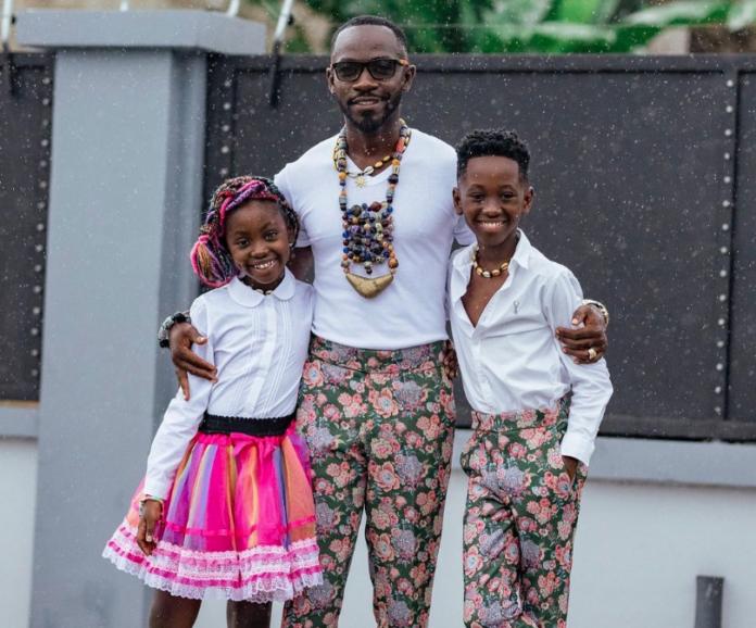 Okyeame Kwame's kids stun Ghanaians with rap prowess - (Video). 46