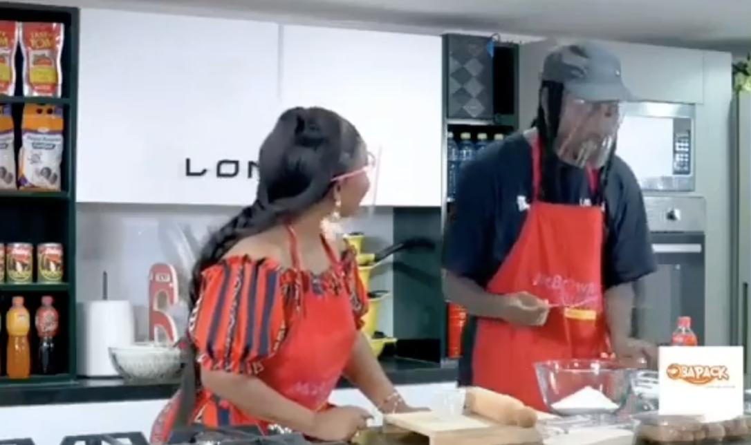 Nana Ama Mcbrown Speaks Italian Fluently With Pappy Kojo On Mcbrown S Kitchen Video Adwoa Adubia News