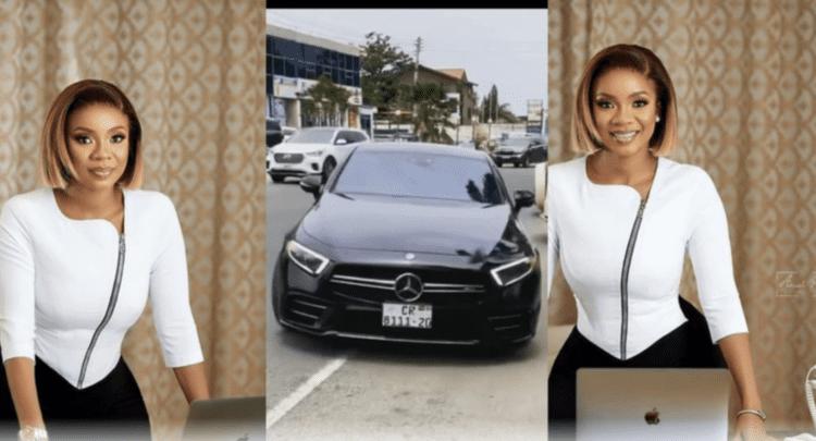 Serwaa Amihere's Latest Mercedes Benz Generates Argument Online - (Video). 46