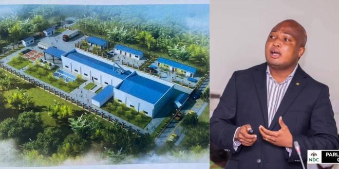 Samuel Okudzeto Ablakwa to build 15,000 tonnes per year cassava starch processing factory in his constituency. 46