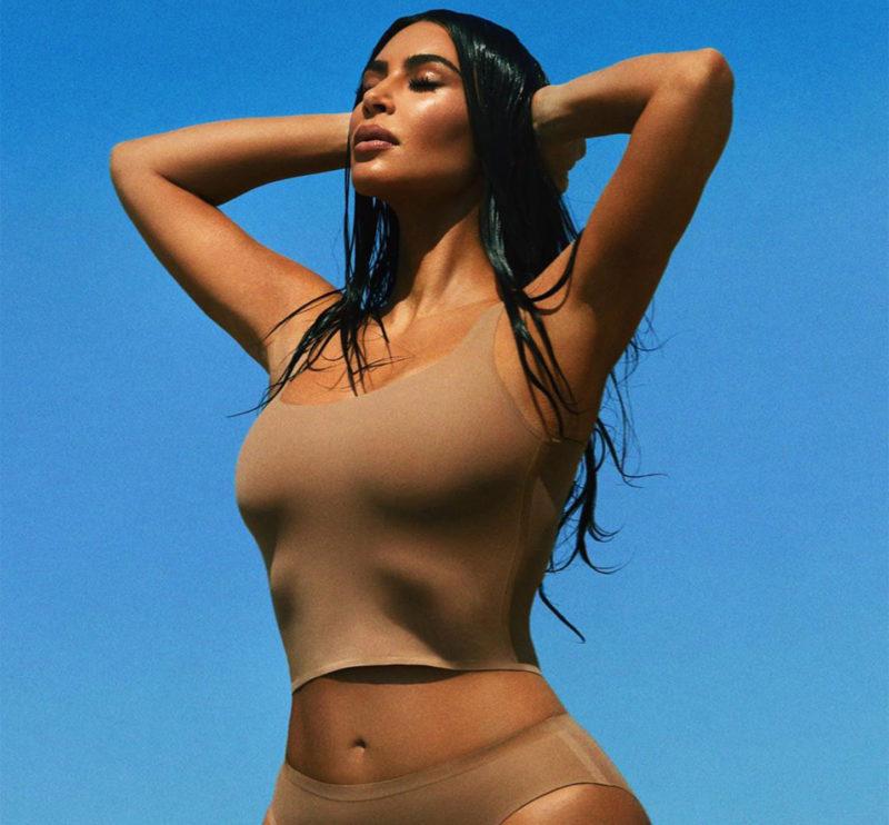 Kim Kardashian and Kylie Jenner flaunt their curves in matching bikinis. 45