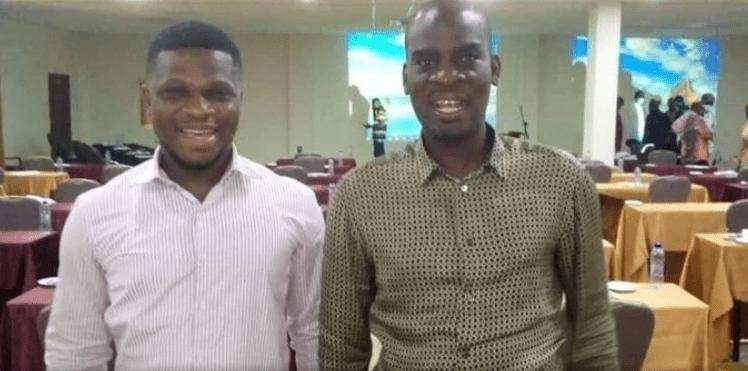 Sammy Gyamfi reunites with Haruna Iddrisu. 3