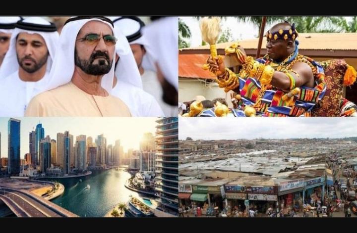 """Asantehene has Failed his People"" – Ghanaians Compare Asantehene To King Of Dubai. 52"