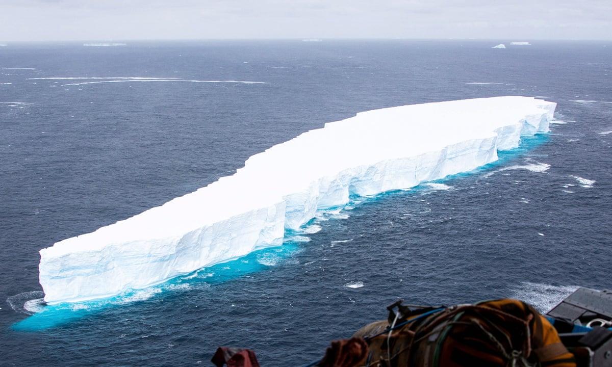 World's largest iceberg breaks off from Antarctica. 46