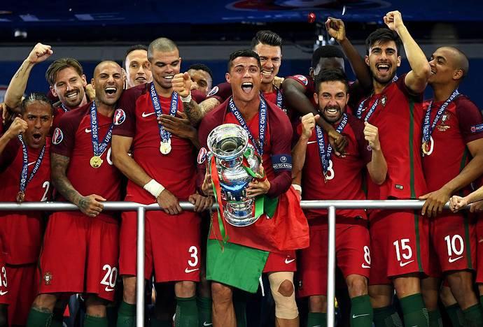 Cristiano Ronaldo leads defending champions, Portugal's Euro 2020 squad. 46