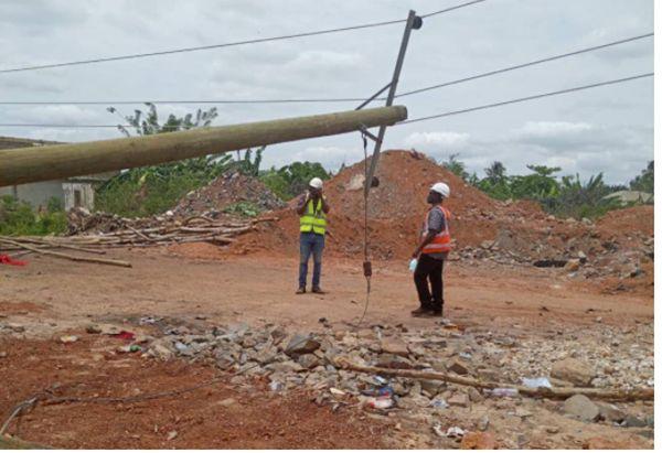 Illegal Miners Damage ECG Installations In Ashanti. 46