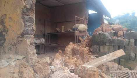 Collapsing Wall Kills Man, Wife at Ahenema Kokoben. 46