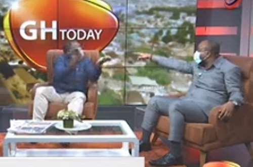Audio Flashback: Sam George and Pius Hadzide 'fight' on live radio. 1