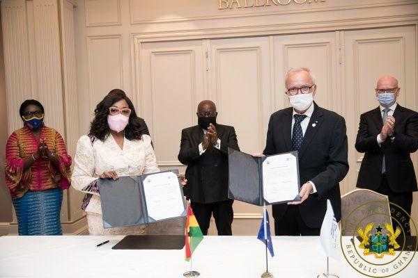 President Akufo-Addo Secures €170 Million For Development Bank, Ghana. 48