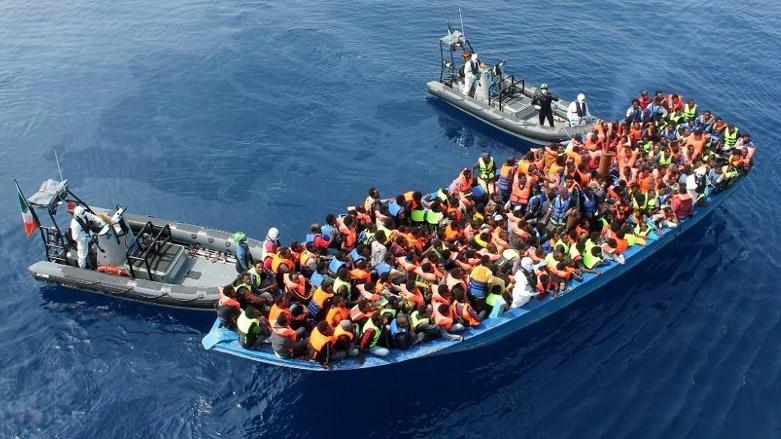 800 plus African migrants rescued on Mediterranean Sea. 1