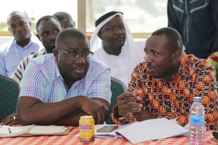NDC chairman names John Boadu, Sammy Awuku, aide to National Security boss as galamsey kingpins. 46