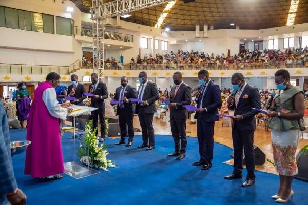 Sam George ordained as elder of Perez Chapel. 3