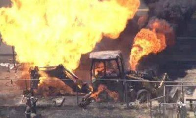 Galamsey: Military task force burns NPP's Kate Gyamfua's excavators in Atewa. 14