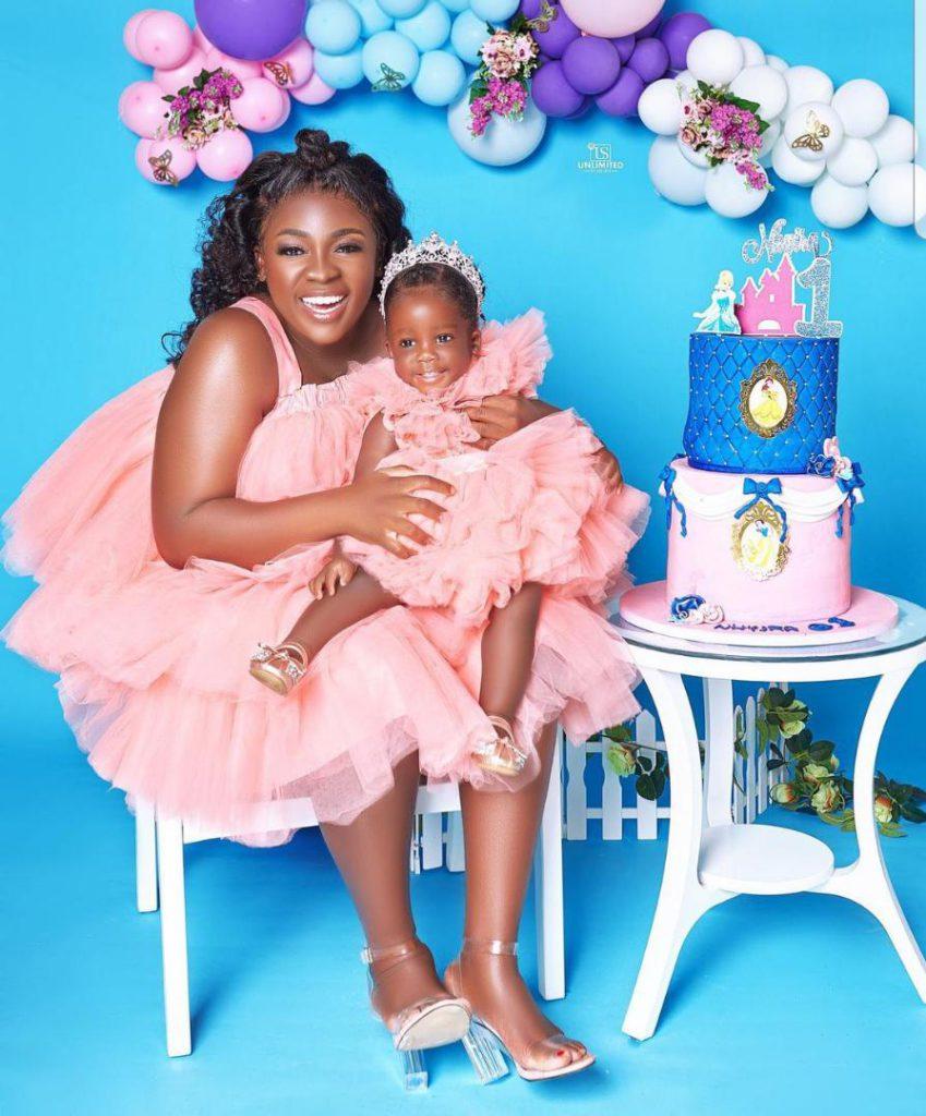 Tracey Boakye drops hot photos to mark daughter's birthday. 63