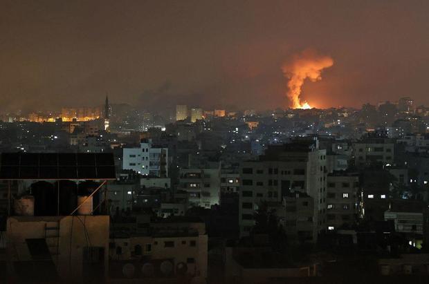 Israel attacks Gaza Strip as violence intensifies - (Video). 46