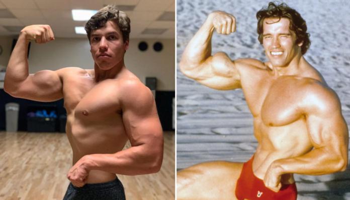 Arnold Schwarzenegger's son's acting career takes off. 52