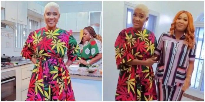 Mercy Johnson's new look shocks fans - (Video). 45