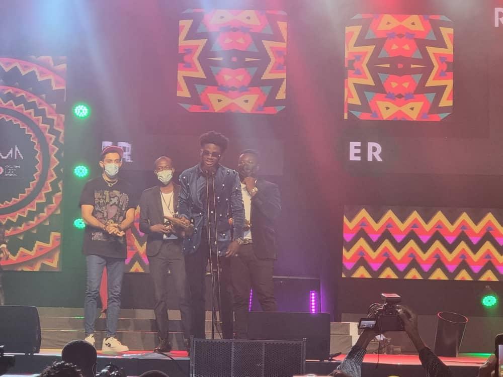 VGMA22: Kuami Eugene wins 'Best Highlife Artiste' four years consecutively. 46