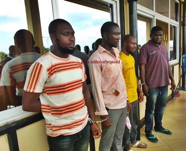 Four Suspected Car Snatchers Arrested - (Photo). 45