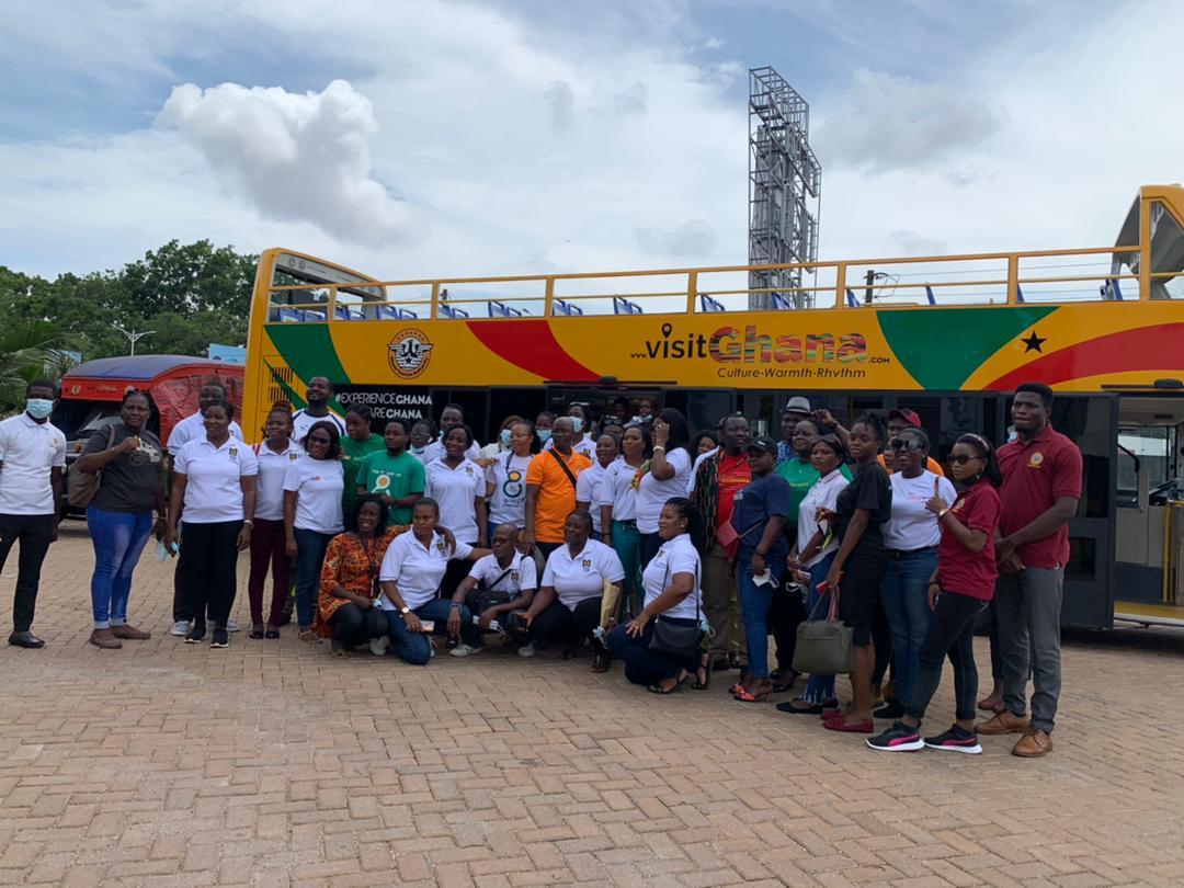 Ghana Tourism Authority organises city tour for the tour Operators Union Of Ghana (TOUGHA). 48
