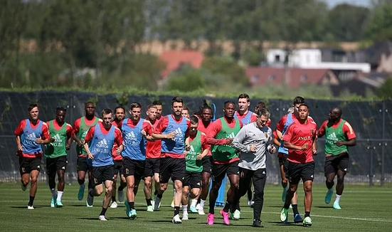 Belgium's footballers ''turn down'' the Covid vaccine ahead of Euro 2020. 45