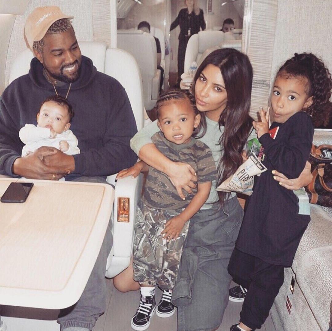 """Love you forever"" Kim Kardashian celebrates Kanye West on his birthday despite filing for divorce. 44"