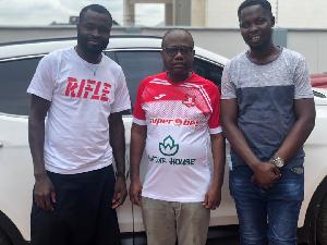 FIFA U20 World Cup winner pays courtesy call on Kwesi Nyantakyi. 46