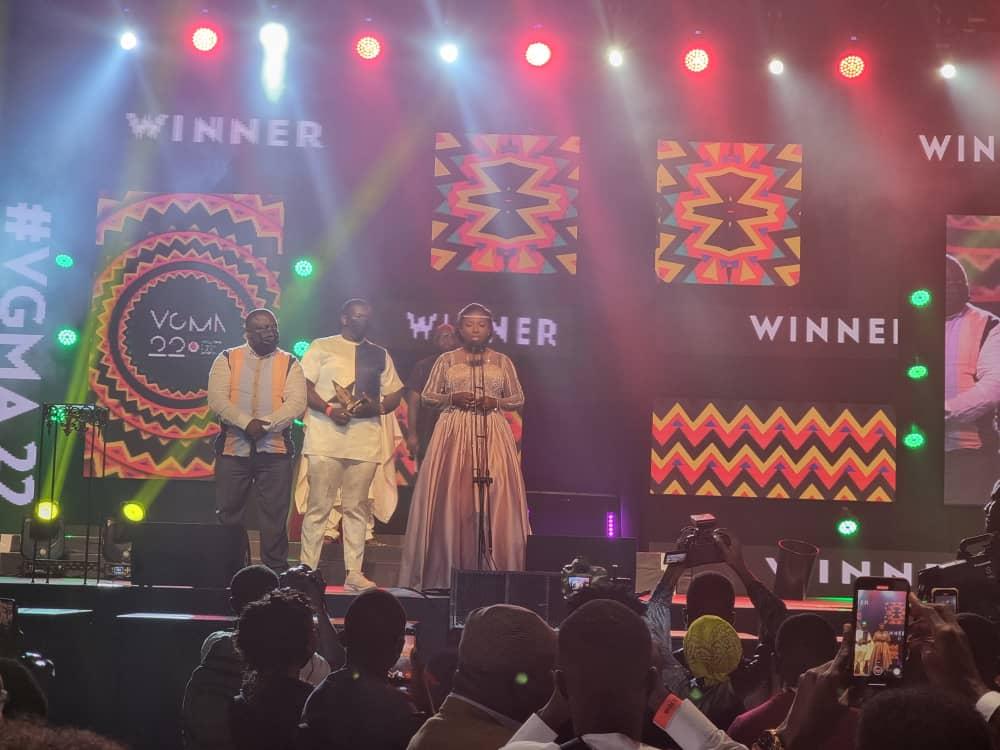 VGMA22: Diana Hamilton is Ghana's 'Best Gospel Artiste' third time in a row. 46