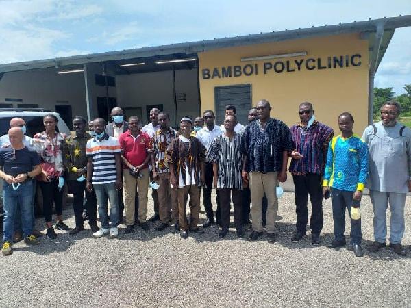 President Akufo-Addo to commission Bamboi Polyclinic. 46
