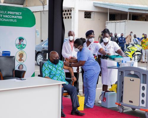 Sputnik V Vaccines: World Bank to monitor Ghana's procurement regime. 46