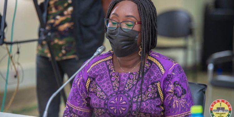 Gifty Twum Ampofo apologizes to NDC MPs. 46