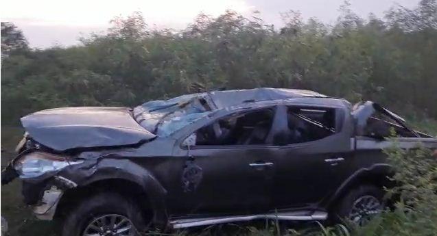 4 in critical condition after a car crash at Gomoa Okyereko. 46