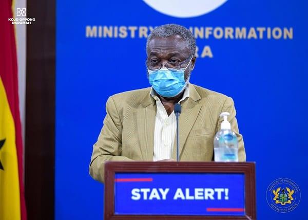 No attendee at Sir John's funeral contracted Coronavirus – Nsiah-Asare. 46